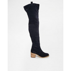 Suede Over the Knee Boot