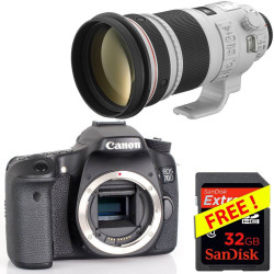 Pack EOS 70D + Zoom + Free...
