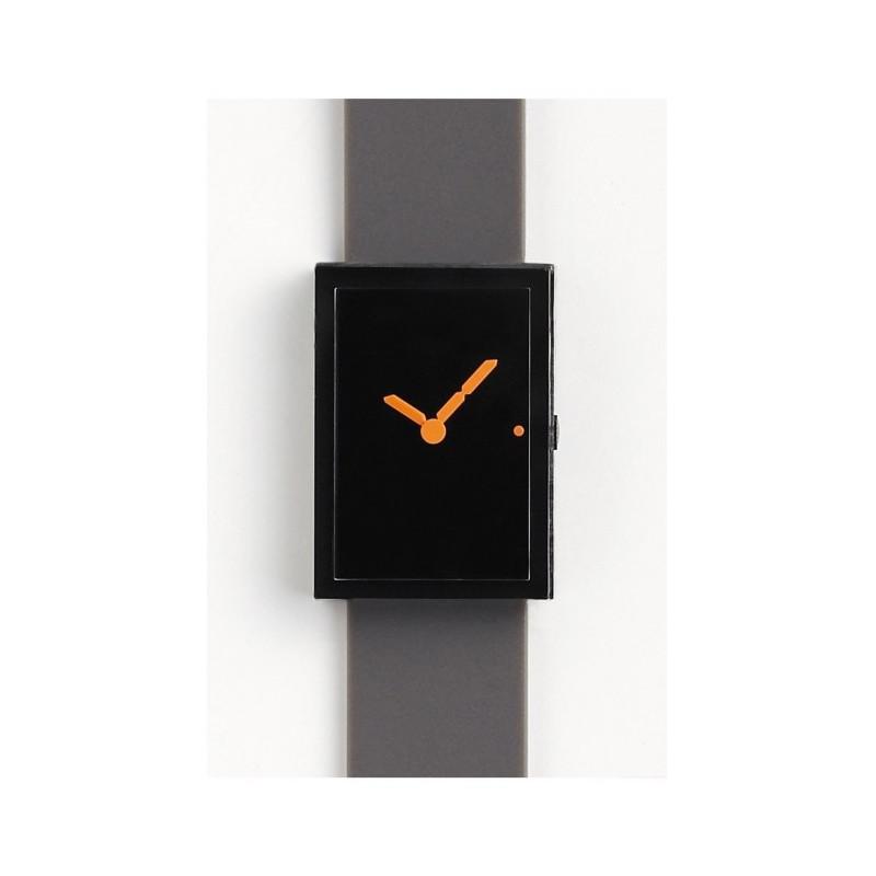 Led Watch Black Orange