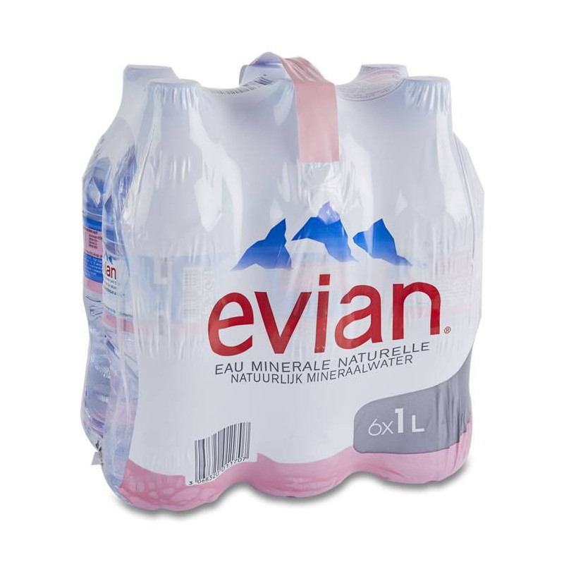 Mineral water Evian
