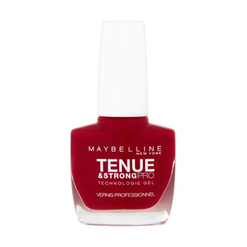 GEMEY MAYBELLINE Keeping & Strong Pro - Gel Nail Polish Deep Red 6