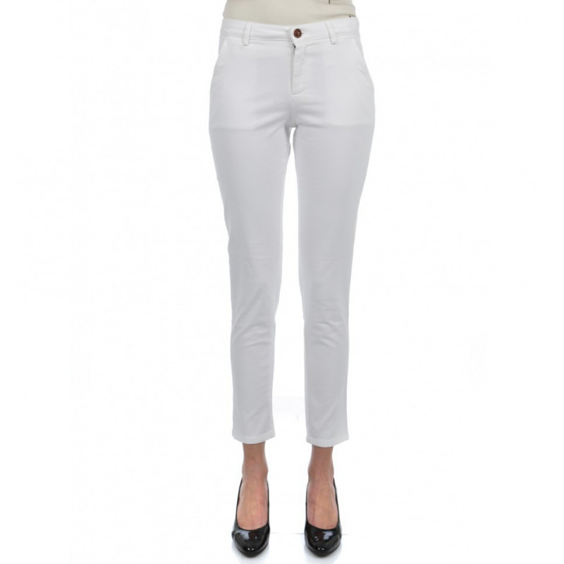 Women Pants Slim Stretch Cotton
