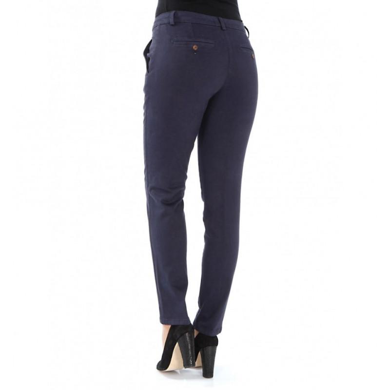 Women Pants Slim Stretch Cotton