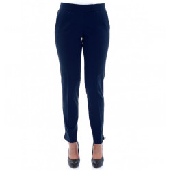 Women Pants Cigarette in Stretch Cotton