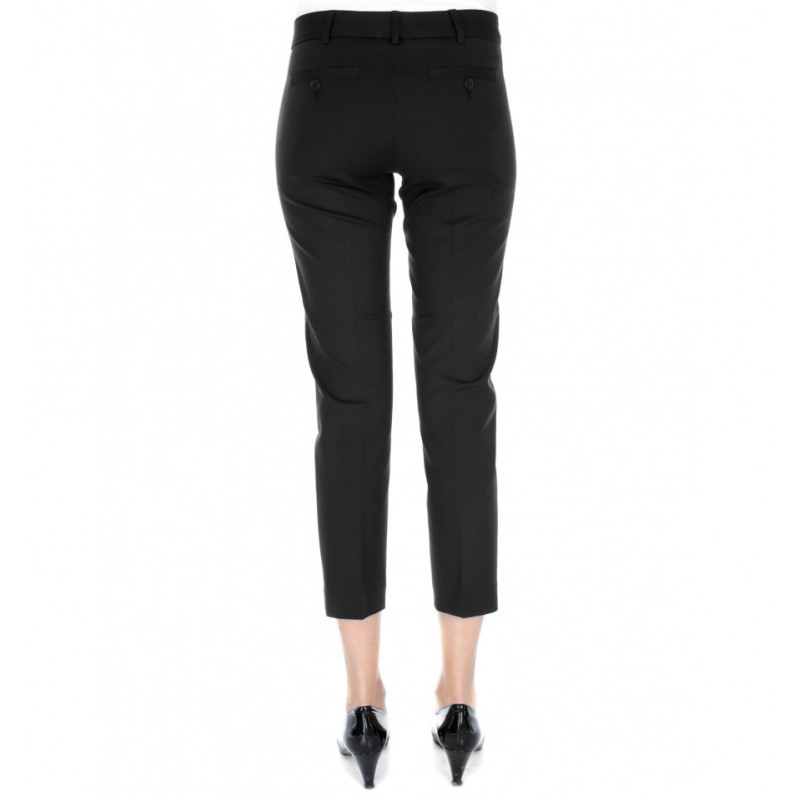 Women Pants 7/8 Slim in Stretch Mixed Cotton