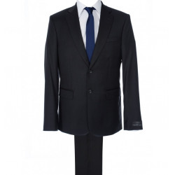 Costume ajusté LANIFICIO F.LLI CERRUTI Pure Laine Super 130's Finement rayé